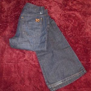 Joe's Jeans Gatsby fit Flared dark wash